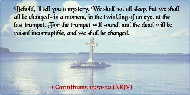 1 Corinthians 15_51-52 - Twitter