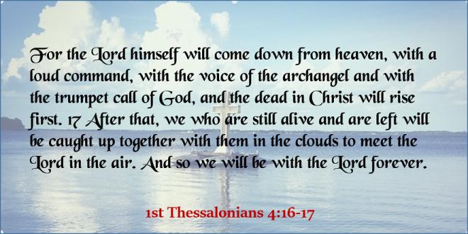 1st Thessalonians 4_16-17 - Twitter