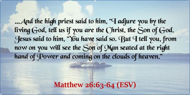 Matthew 26_63-64 - Twitter